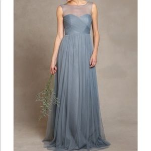 Jenny Yoo Aria Bridesmaid Dress w/ Extra Length